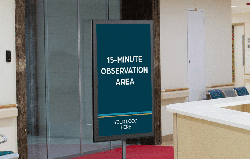Free Standing Signs for your Vaccination Distribution Efforts from Image360